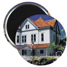 Victorian Mansion by RD Riccoboni Magnet