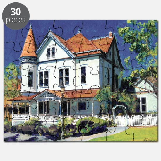 Victorian Mansion by RD Riccoboni Puzzle