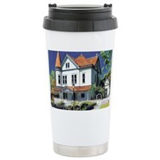 Victorian Mansion by RD Riccobo Travel Mug