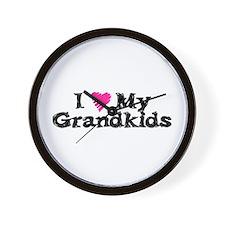 Cool Grampa Wall Clock