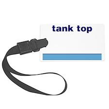 Generic-Tank-Top Luggage Tag