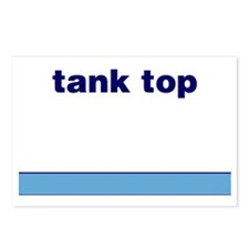 Generic-Tank-Top Postcards (Package of 8)