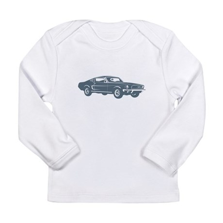 1968 Ford Mustang Fastback Long Sleeve T-Shirt