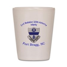 2nd 325th abn inf Shot Glass