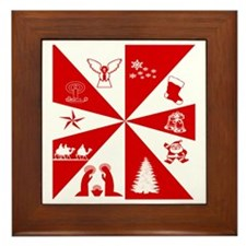 Christmas Framed Tile
