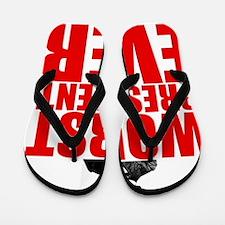 ART v5 WORST Andrew Johnson Flip Flops