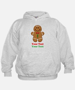 Personalize Little Gingerbread Man Hoodie