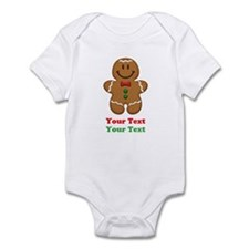 Personalize Little Gingerbread Man Infant Bodysuit