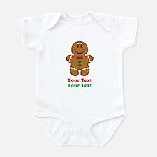 Personalize Little Gingerbread Man Infant Bodysuit