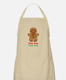 Personalize Little Gingerbread Man Apron