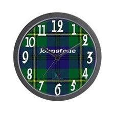 Johnstone Clan Wall Clock