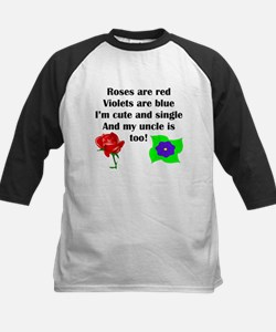 Cute And Single Uncle Poem Baseball Jersey