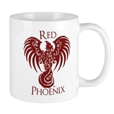 Red Phoenix Mugs