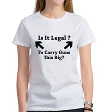 Is It Legal To Carry Guns This Big? Tee