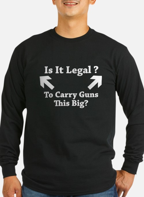 Is It Legal To Carry Guns This Big? T