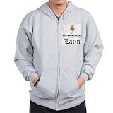 Latin mass Zip Hoodie