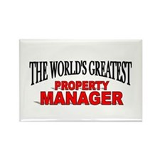 """The World's Greatest Property Manager"" Rectangle"