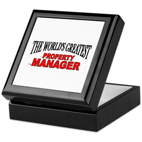 """The World's Greatest Property Manager"" Tile Box"