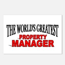 """The World's Greatest Property Manager"" Postcards"