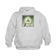 Pyramid Eye U.S. dollar logo Hoodie