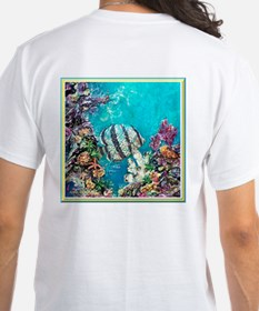 Banded Butterflyfish<br>White T-shirt