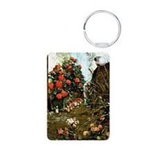 Hassam: In the Garden at V Keychains