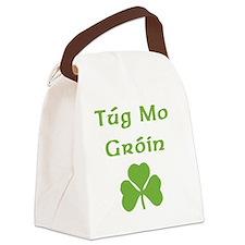 tug-mo-groin Canvas Lunch Bag