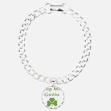 tug-mo-groin Charm Bracelet, One Charm