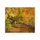 Autumn leaves Blankets