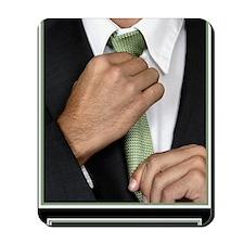 23x35_suit-up_v Mousepad