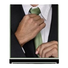 23x35_suit-up_v Throw Blanket