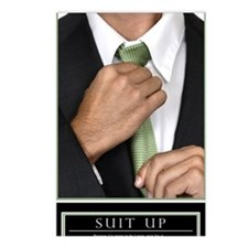 23x35_suit-up_v Postcards (Package of 8)