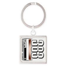 MOTOR383 Square Keychain