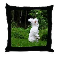 11x17_printstanding Throw Pillow