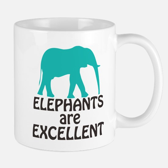 Elephants are Excellent Mugs
