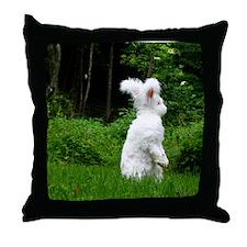16x20_printstanding Throw Pillow