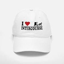 I Love Intercourse Baseball Baseball Cap