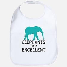 Elephants are Excellent Bib