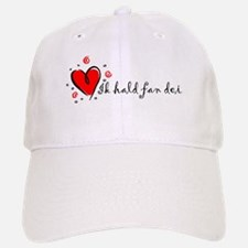 """""""I Love You"""" [Frisian] Baseball Baseball Cap"""