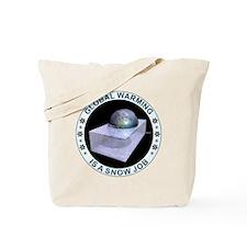 feb_snow_job Tote Bag