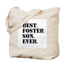 Best Foster Son Ever Tote Bag