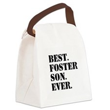 Best Foster Son Ever Canvas Lunch Bag