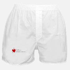 """I Love You"" [Finnish] Boxer Shorts"