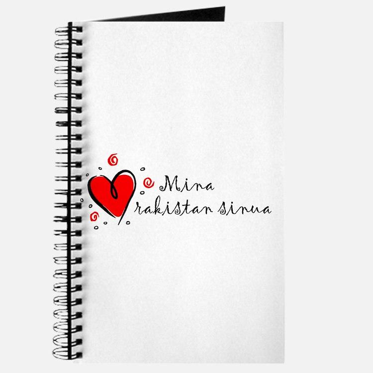 """I Love You"" [Finnish] Journal"