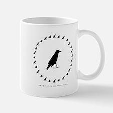 Mug with Crow Circle