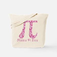 Fuscia Damask Pi Day Tote Bag