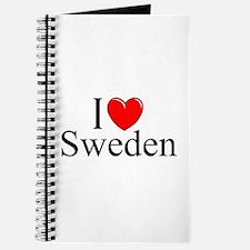"""I Love Sweden"" Journal"