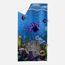 Underwater Love Beach Towel