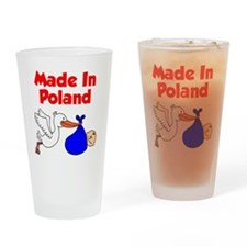 Made in Poland Stork Shirt for a Bo Drinking Glass