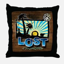 lostwoodvintageCALENDAR Throw Pillow